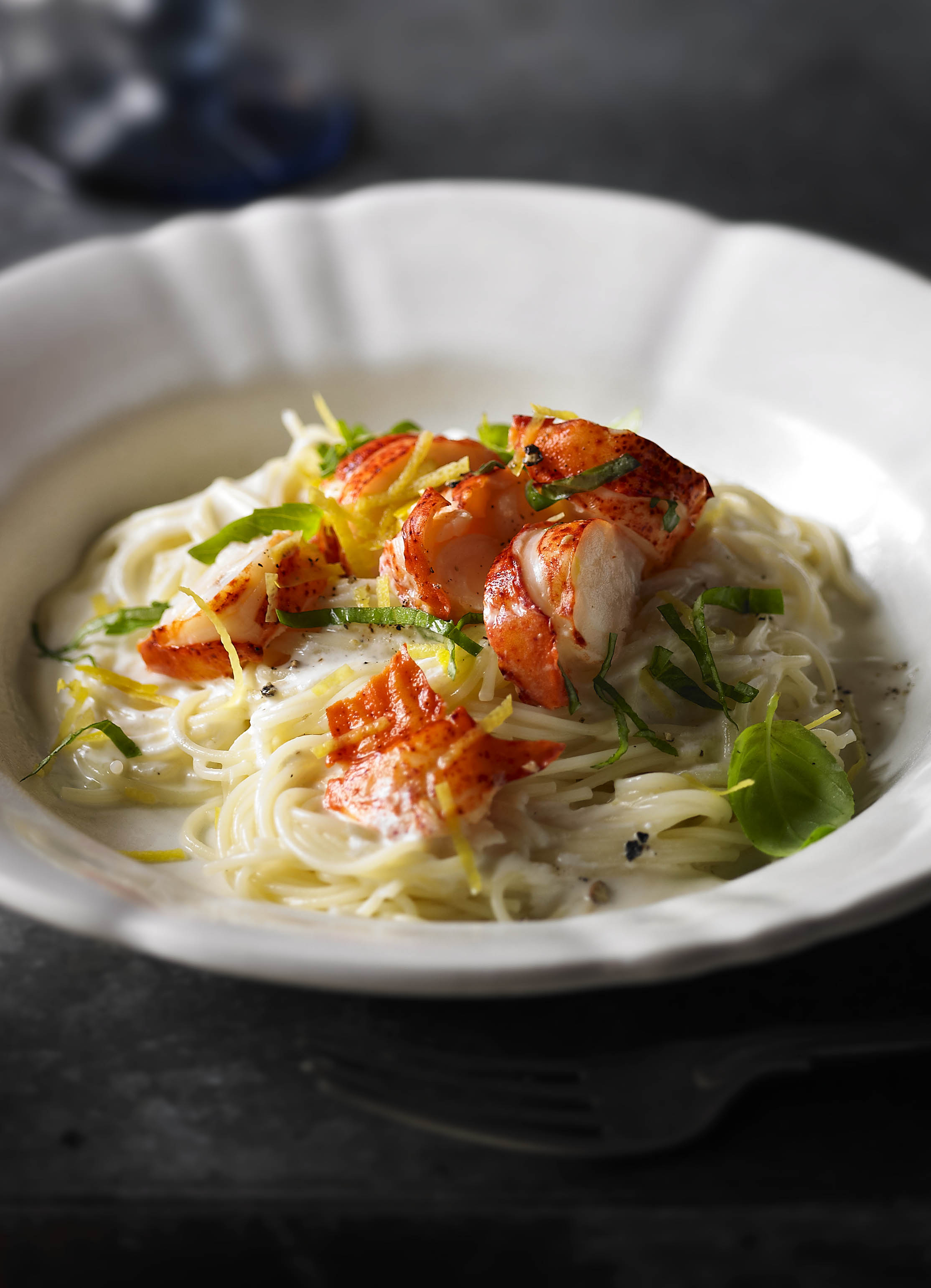 Angel Hair Pasta Recipe With Lobster Olive Magazine