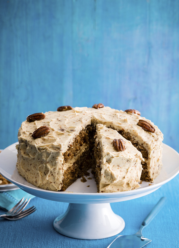 Coffee Cake Recipe with Pecan Brittle