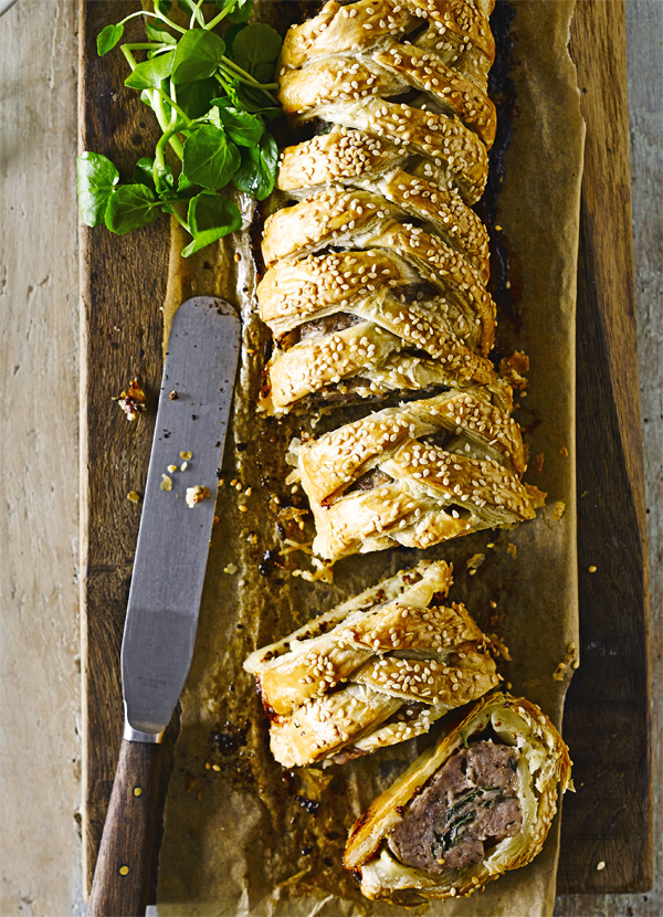 Fennel-Spiced Sausage Plait Recipe