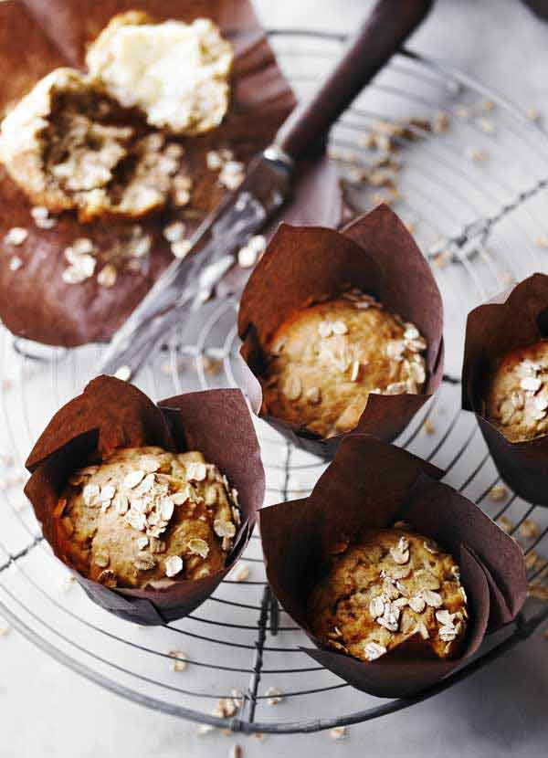 Breakfast Banana Muffins Recipe