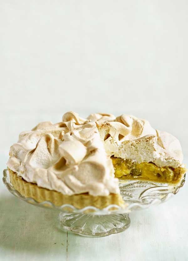 Gooseberry Meringue Pie Recipe