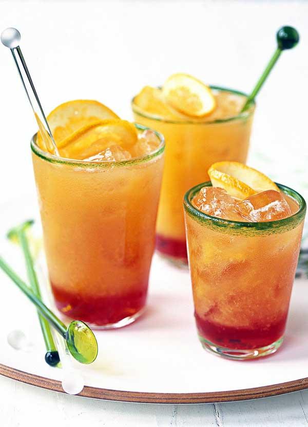 Campari cocktails Recipe with Blood Orange