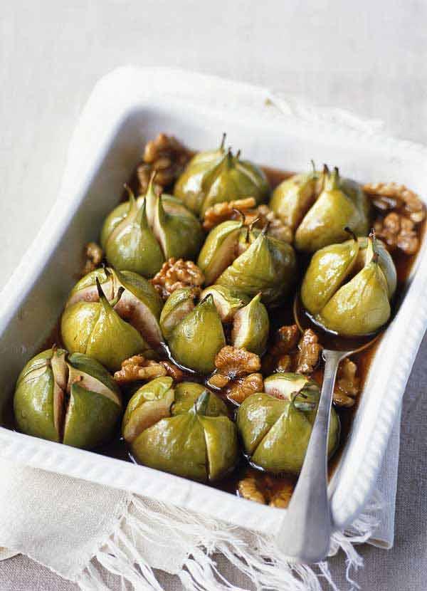 Baked alaska with honeyed figs & mascarpone ice cream ...