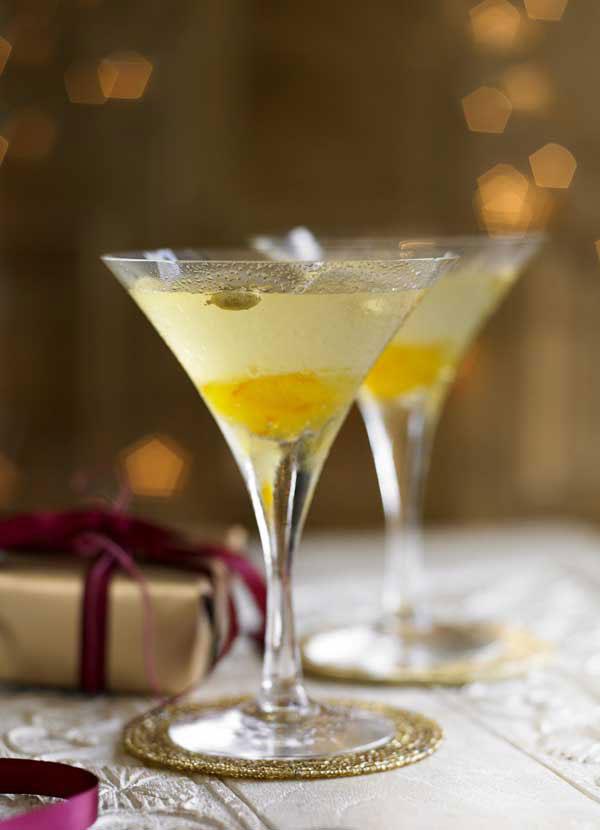 Vodka Martini with Bitter Orange and Cardamom