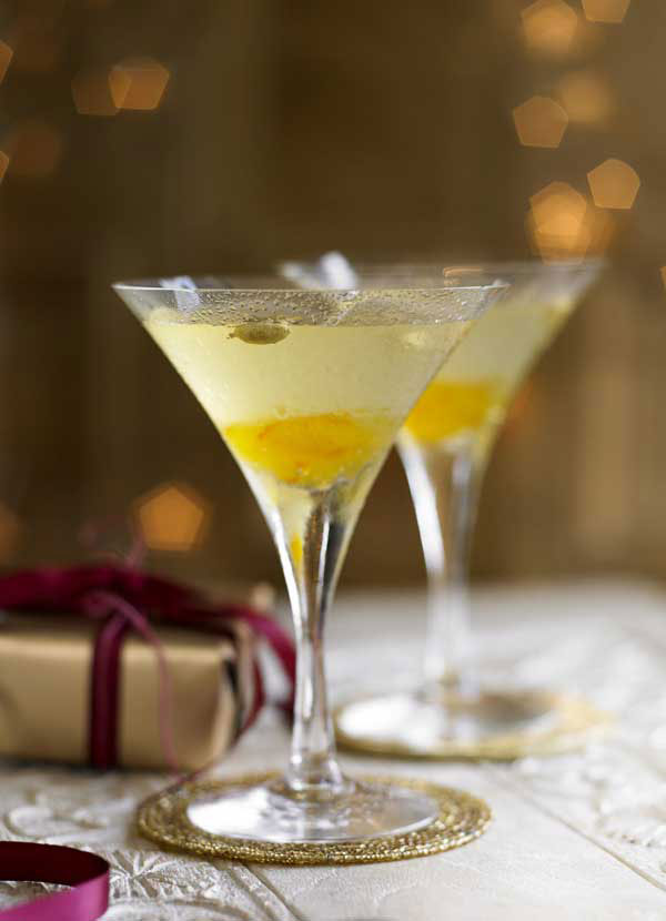 Vodka Martini with Bitter Orange and Cardamom