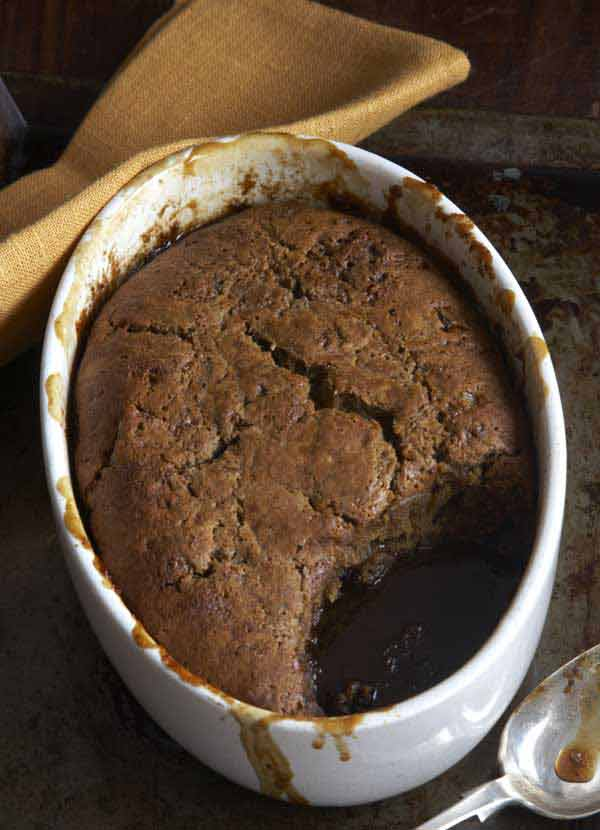 sticky date and ginger pudding