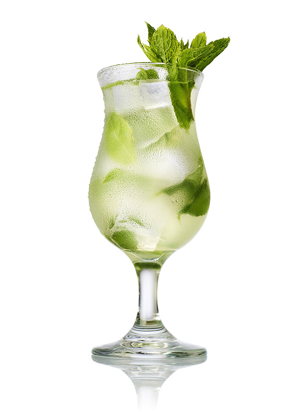 Southside fizz cocktail