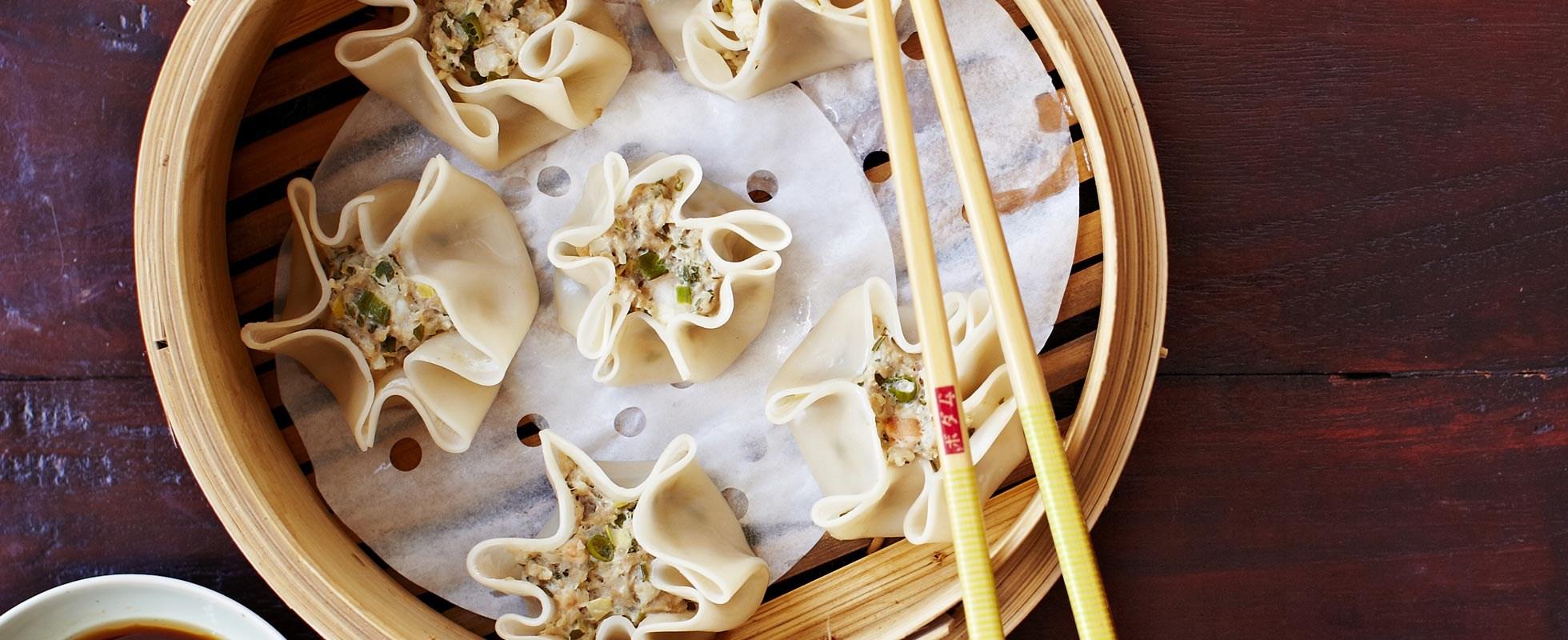 Pork and Prawn Dumplings Recipe