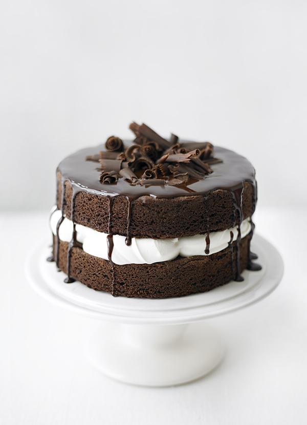 Fatless Chocolate Sponge Cake