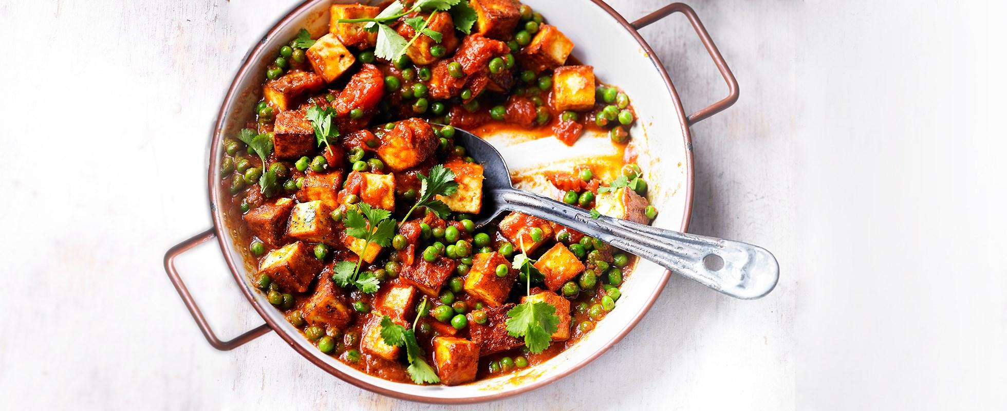 Best curries - mutter paneer