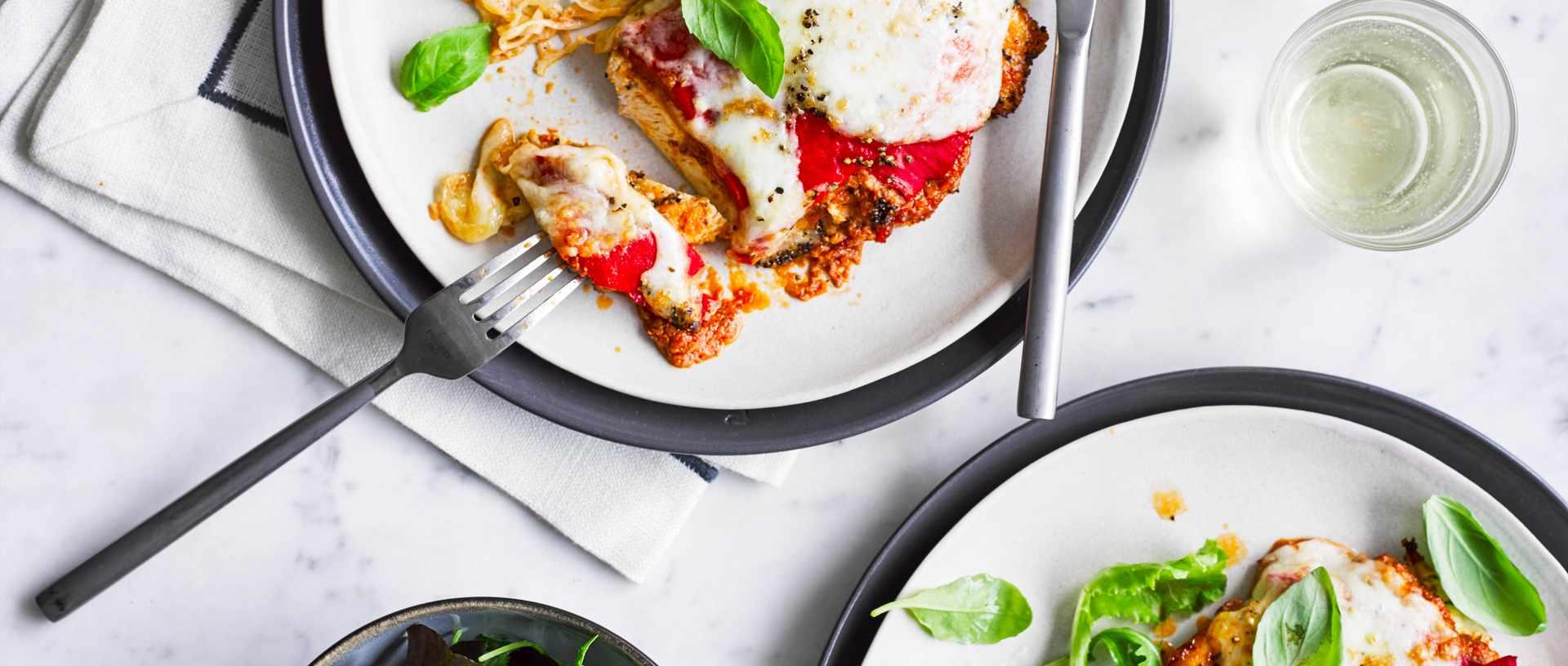 Chicken and red pesto melt