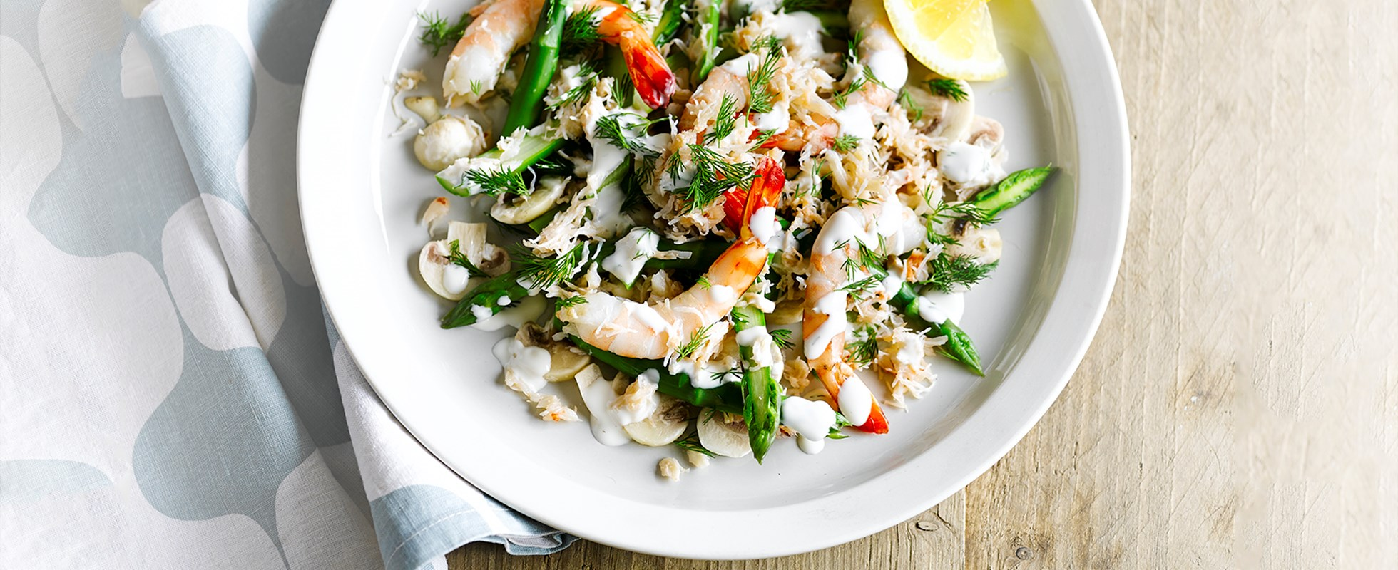 West coast salad (Västkustsallad) recipe