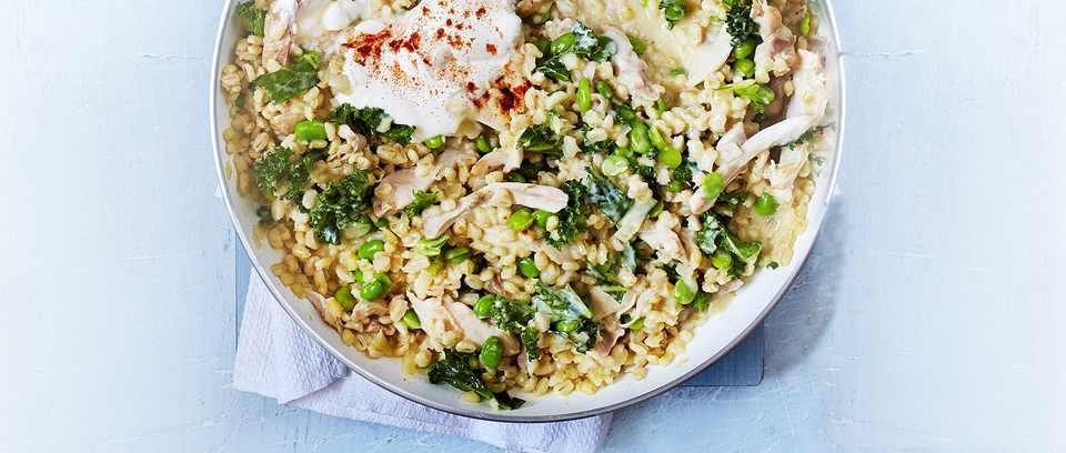 Barley risotto recipe