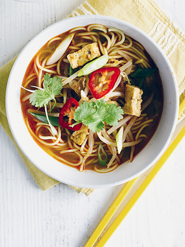 Red Thai Noodle Soup Recipe