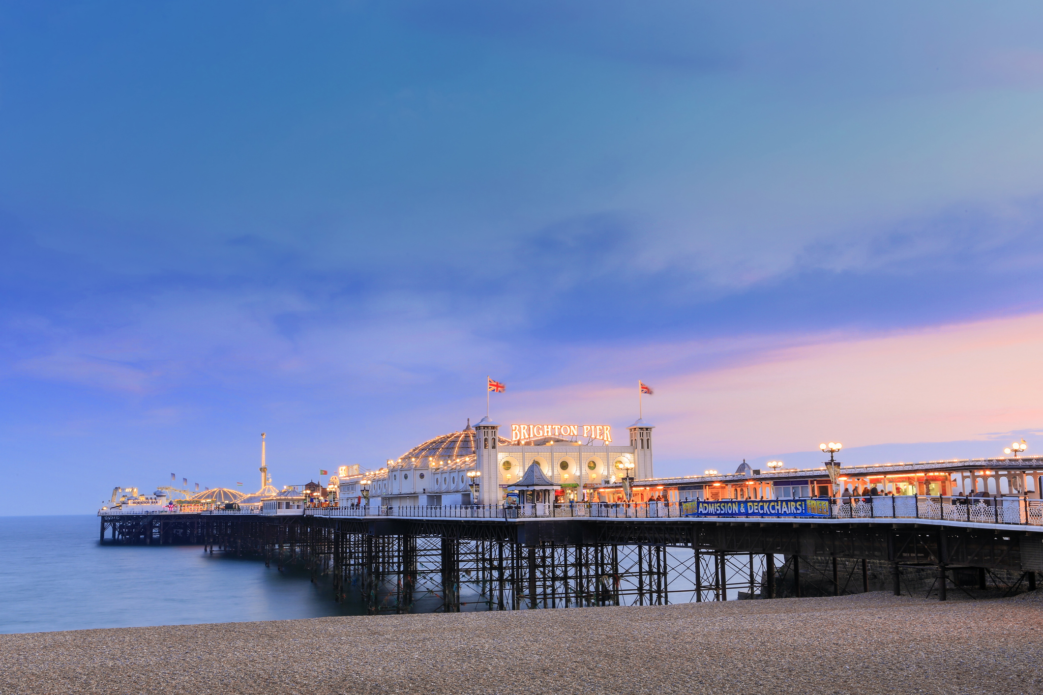 Brighton pier (Getty images)