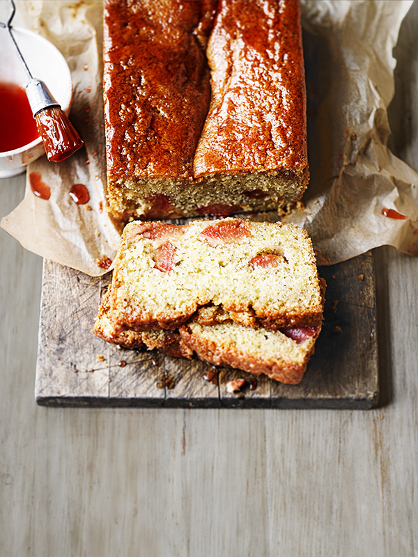 Pound Cake Recipe With Plums and Earl Grey