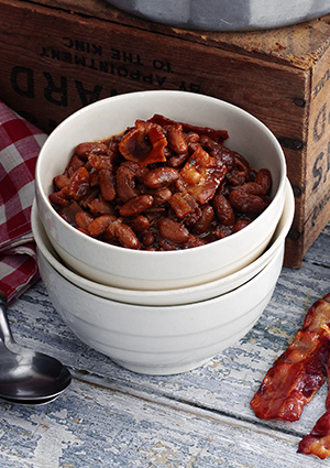 Maple barbecue beans