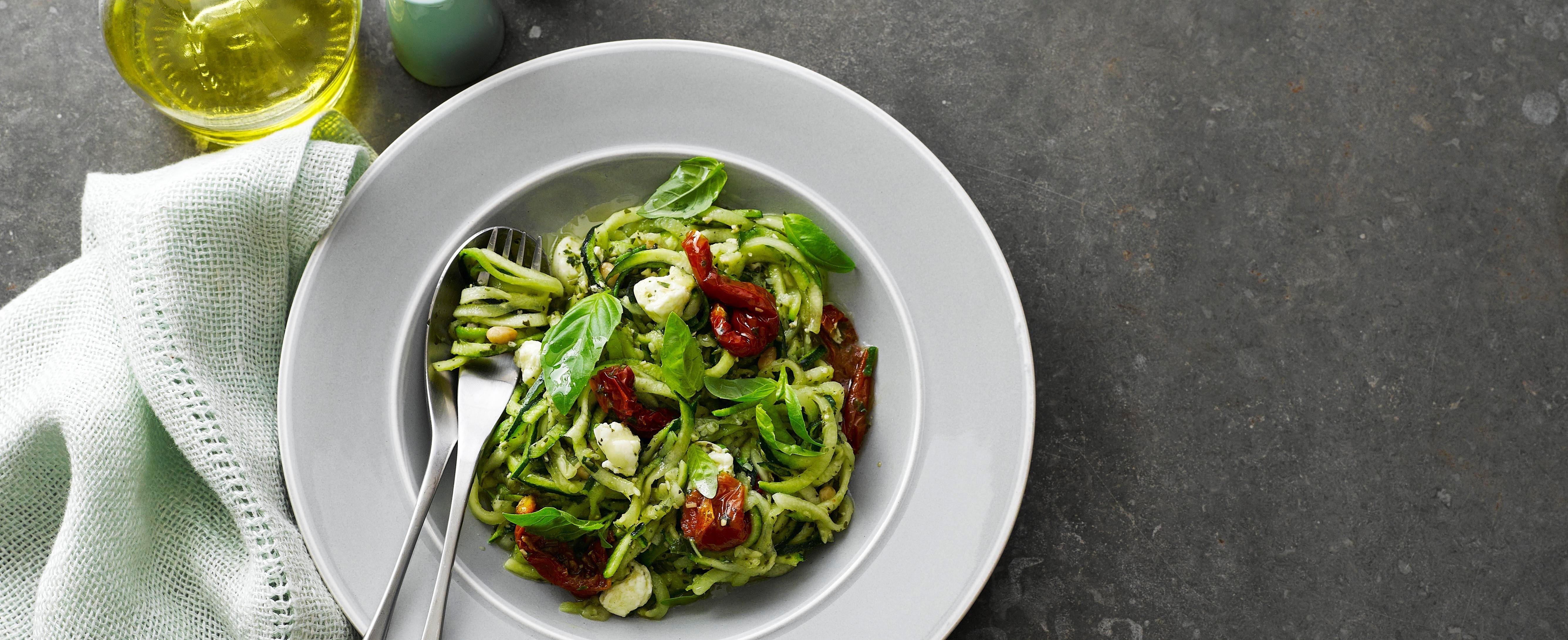 Spiralizer Recipes - courgetti