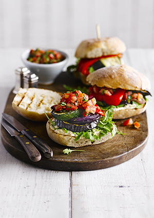Allotment Veggie Burgers Recipe
