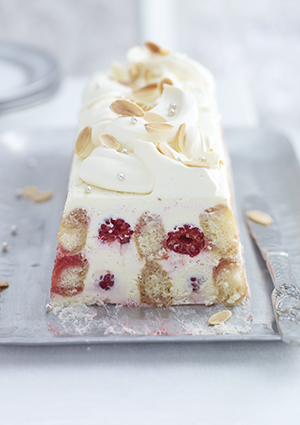 Mascarpone Raspberry Trifle Terrine Recipe