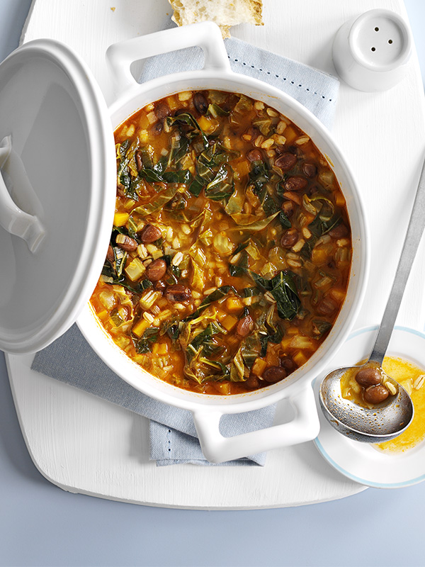 Tuscan Stew Recipe with Beans and Barley
