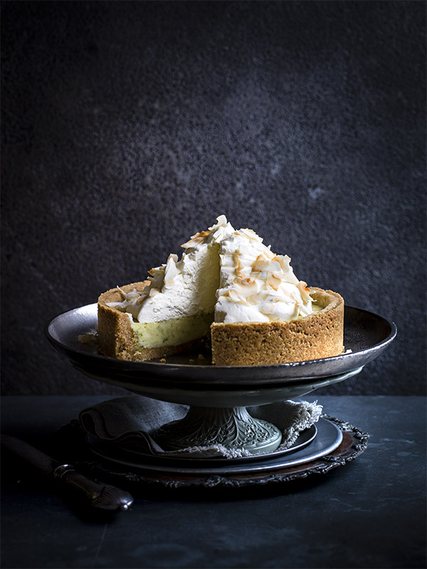 Coconut and Lime Pie Recipe