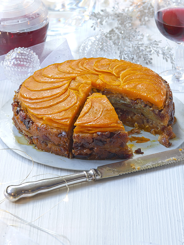 Vegetarian Cake Recipe With Squash, Sage and Chestnuts