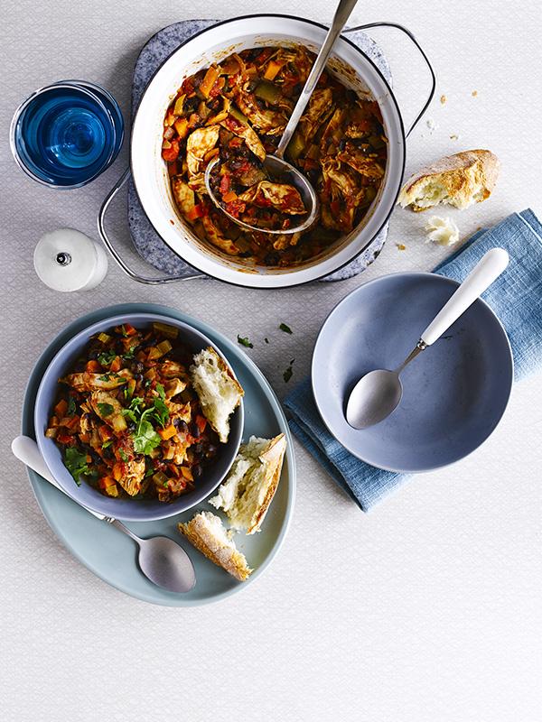 Turkey chilli bean stew