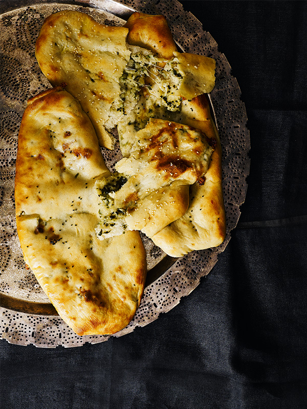 Cheese Naan Bread Recipe Olive Magazine