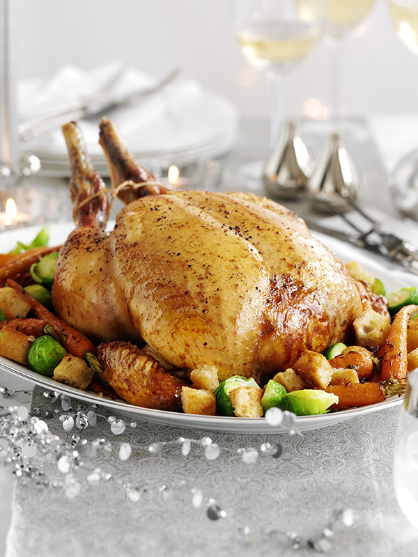 how to cook a capon for christmas uk