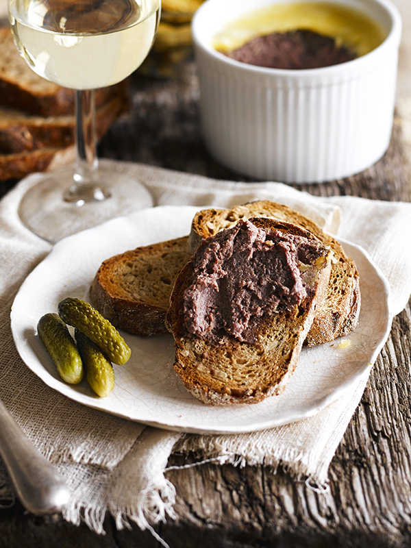 Baked tetilla cheese with escalivada recipe olive magazine for Baked chicken liver recipes