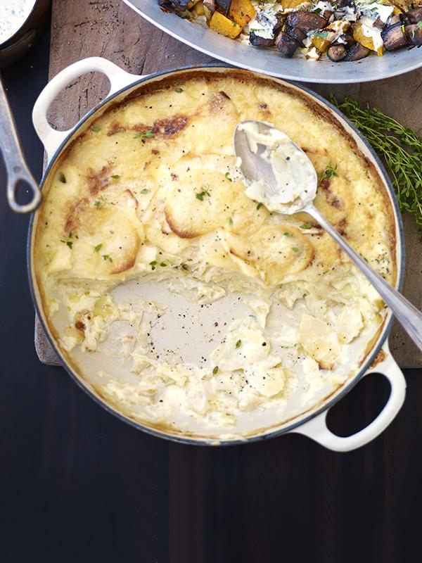 Potato and Celeriac Gratin Recipe