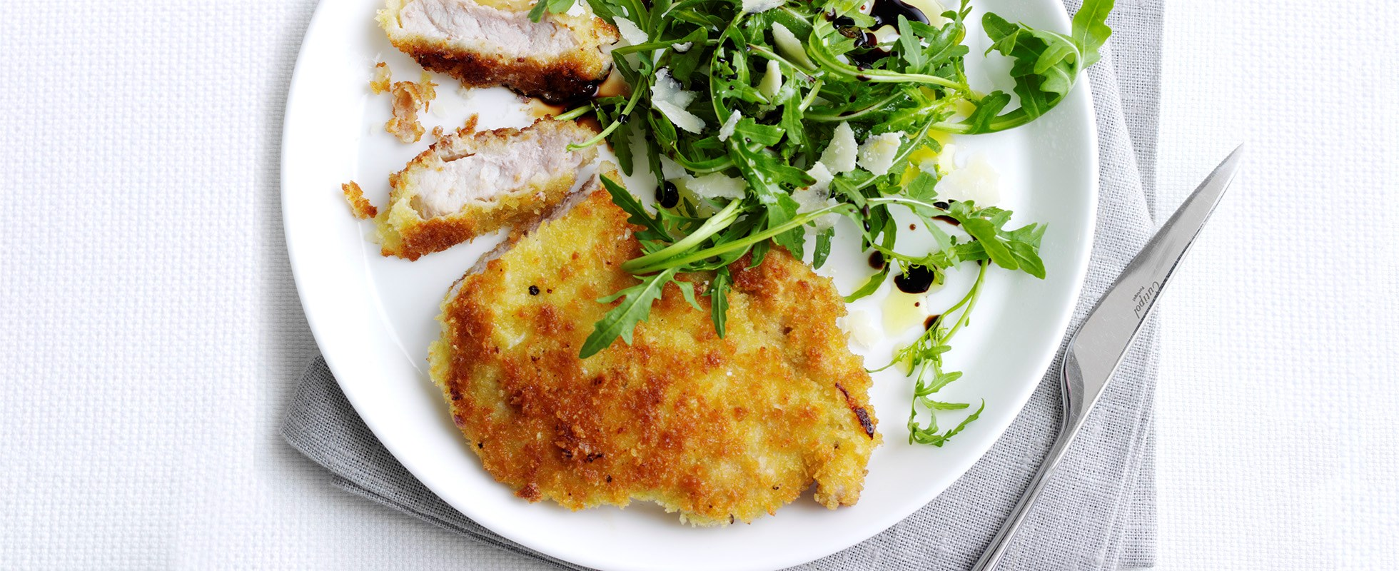 Parmesan-crusted pork