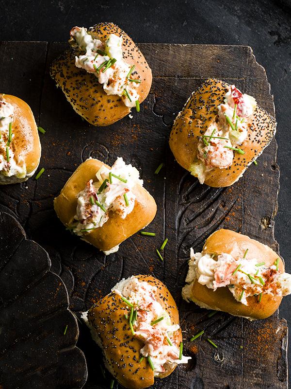 Mini lobster rolls recipe