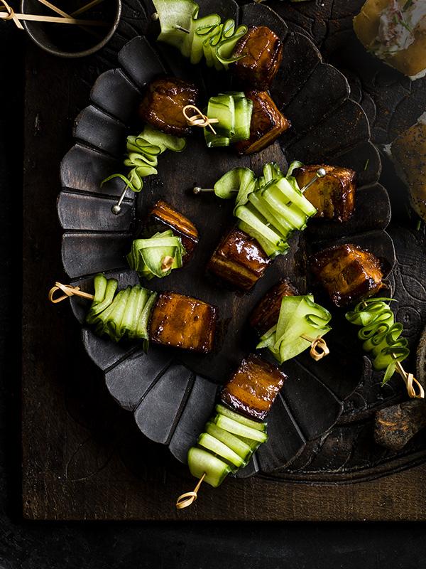 Pork Belly Skewers With Vietnamese Caramel Sauce Recipe Olive Magazine