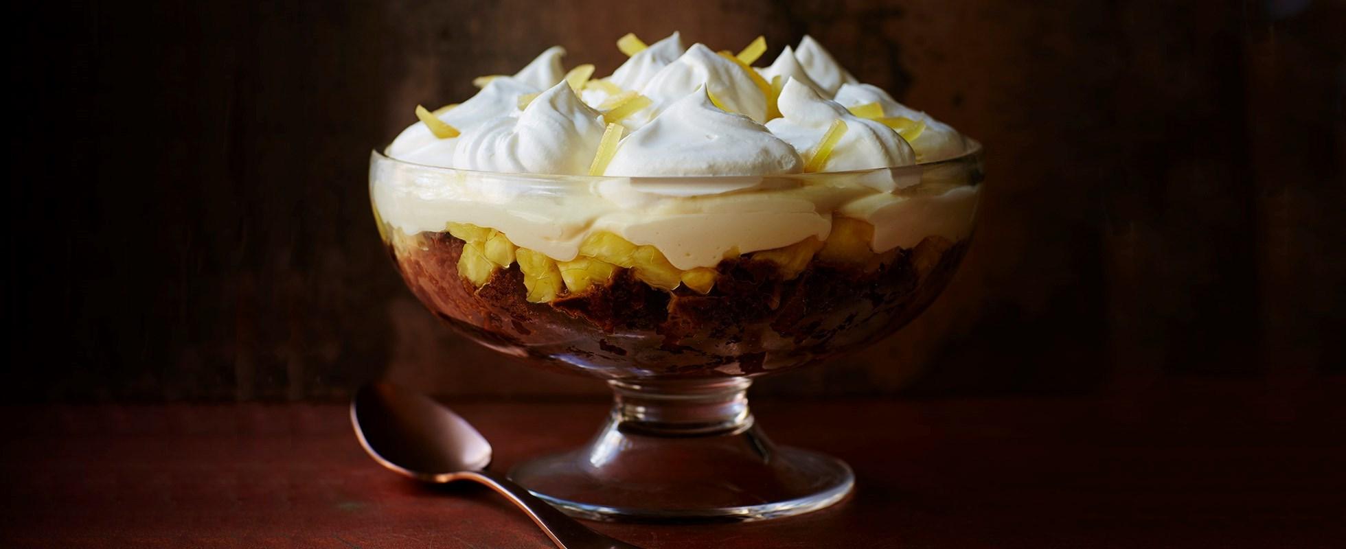 gingercake trifle