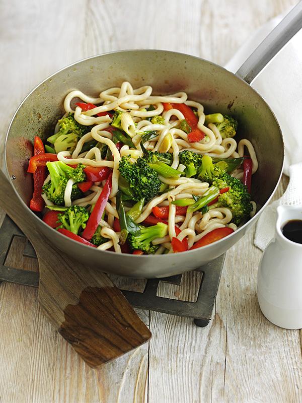 Yaki Vegetable Udon Noodles Recipe