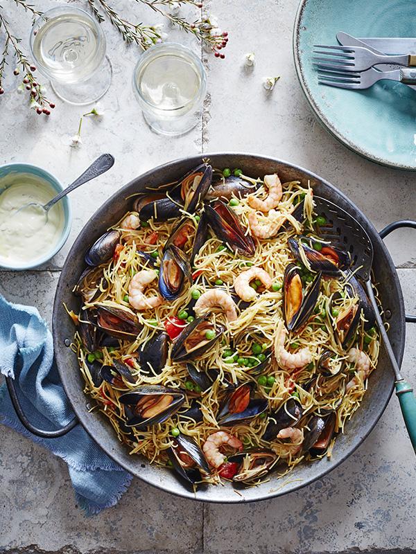Seafood Fideuà Recipe