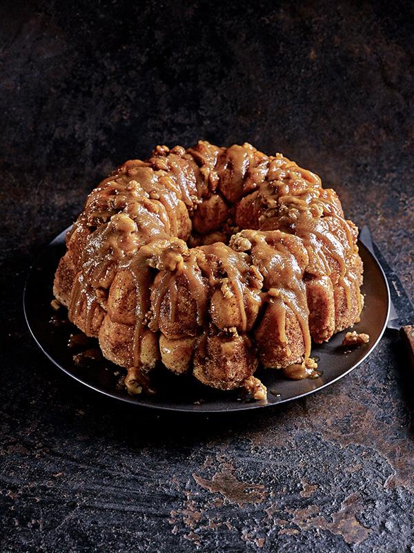 Monkey Bread Recipe with Bourbon