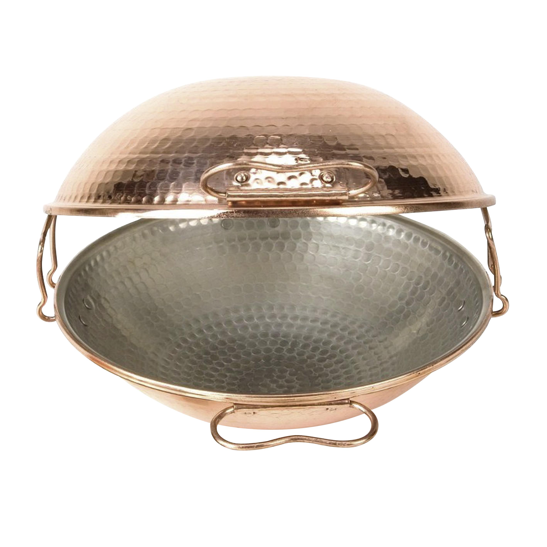 Copper pan