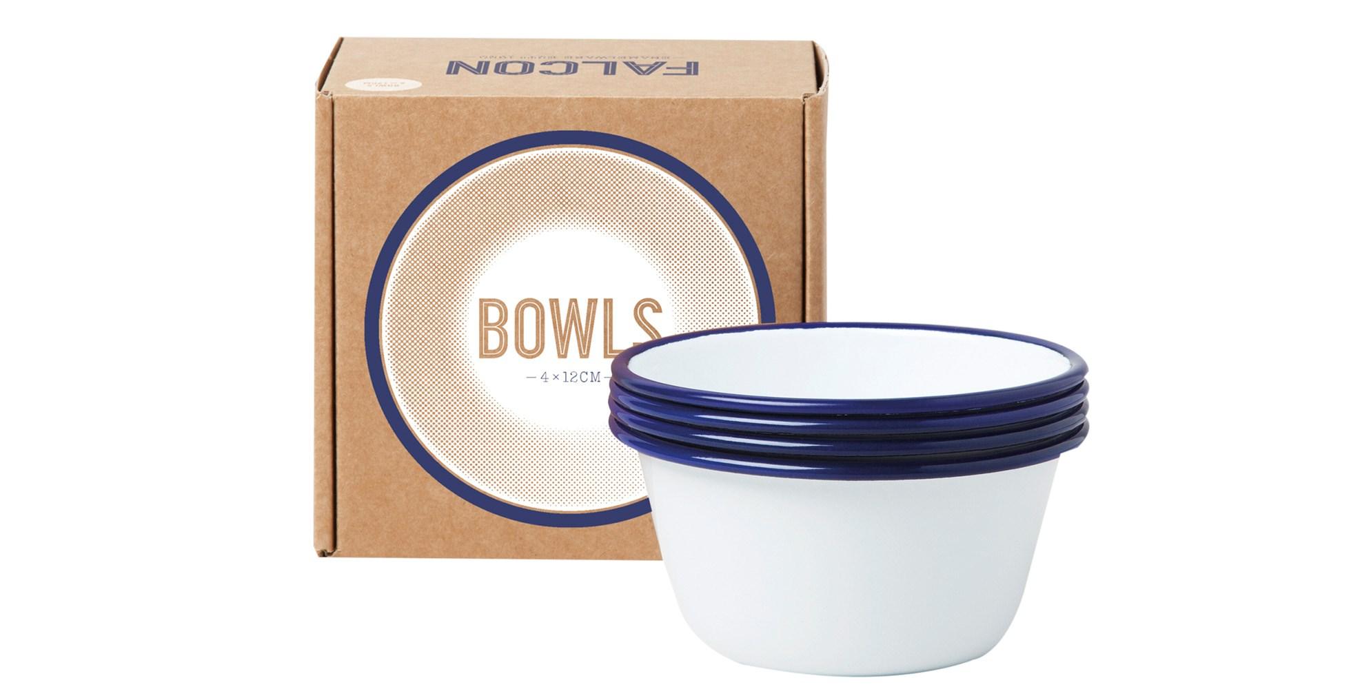 Falcon 12cm enamel bowls