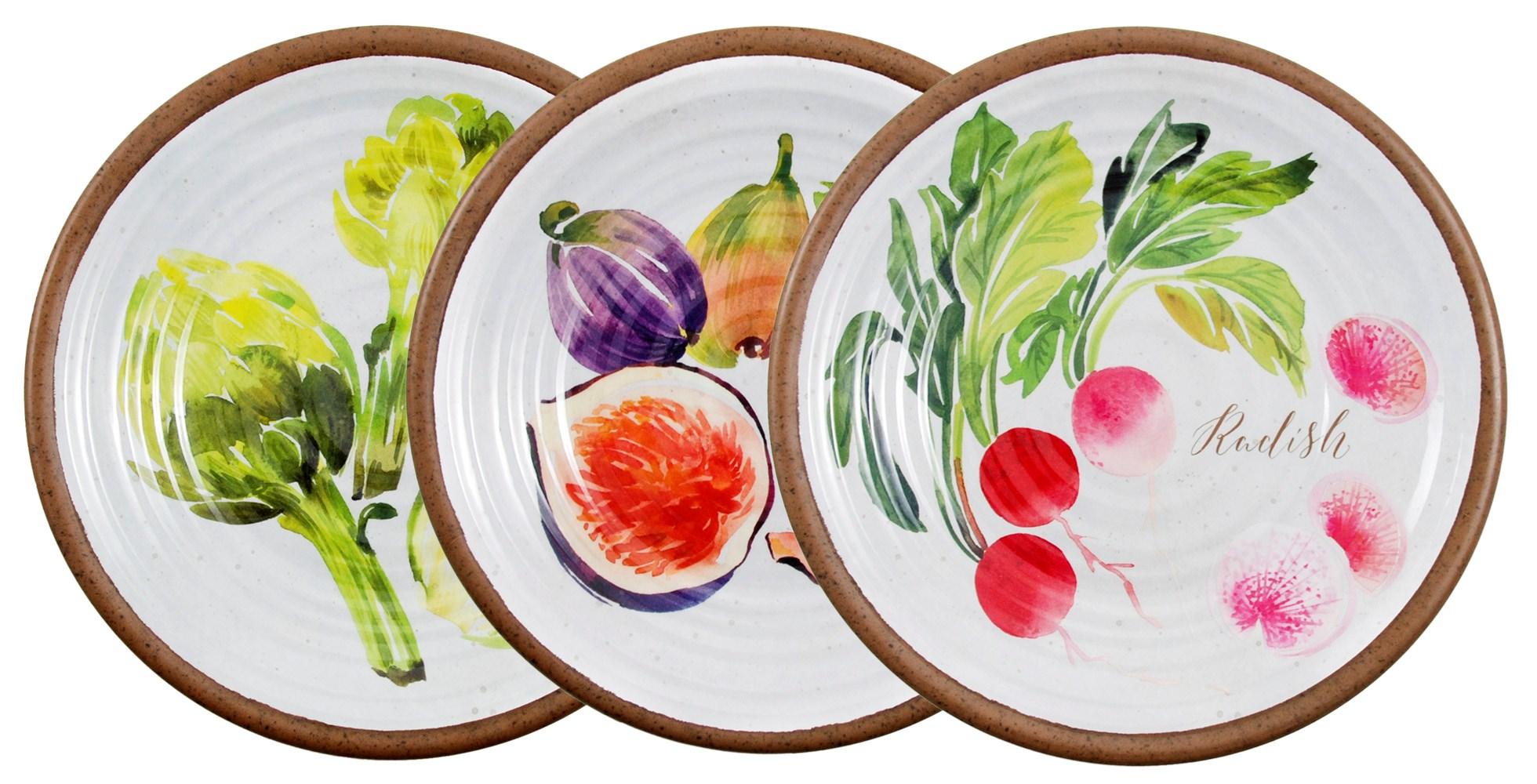Provence Melamine Plate Set