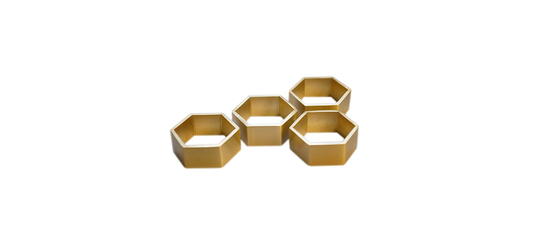 brass napkin rings