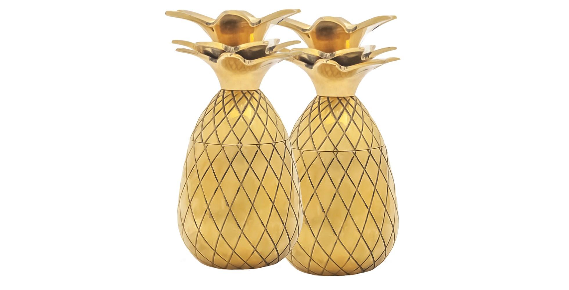 pineapple shot glasses