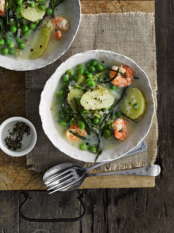 Jersey Royals Spring Soup Recipe