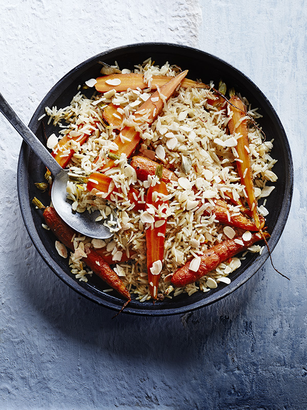 Carrot Rice Recipe with Cardamom