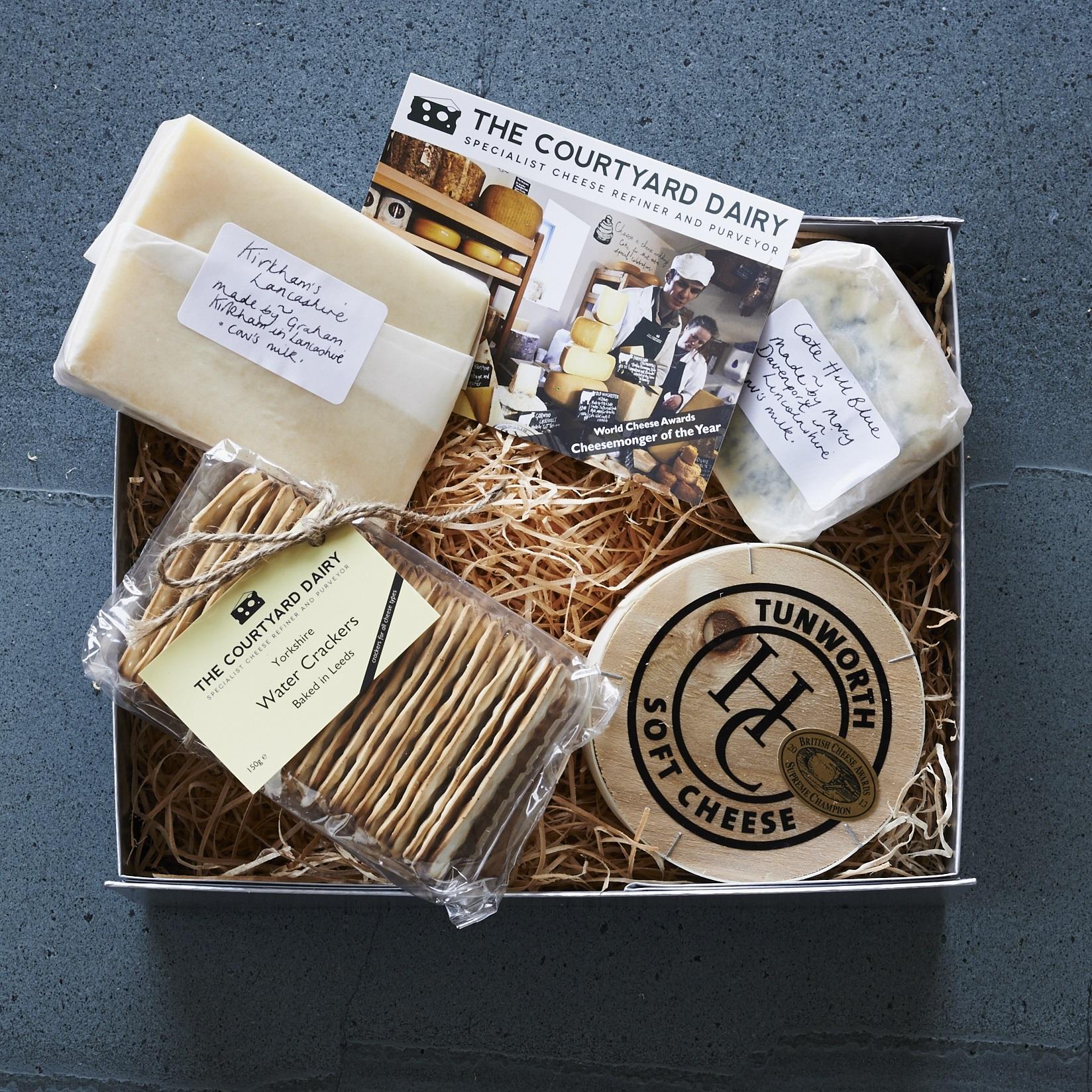 Courtyard Dairy cheese