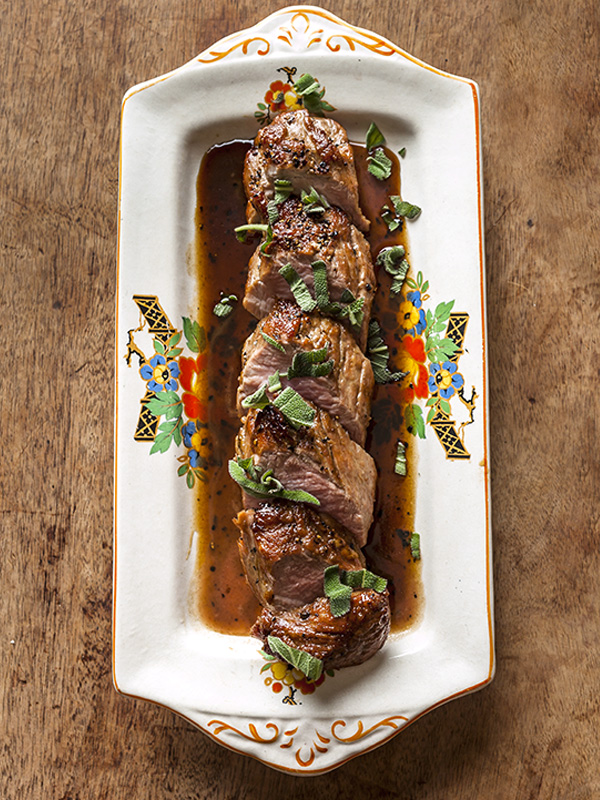 Pork Tenderloin With Madeira And Sage Recipe Olive Magazine