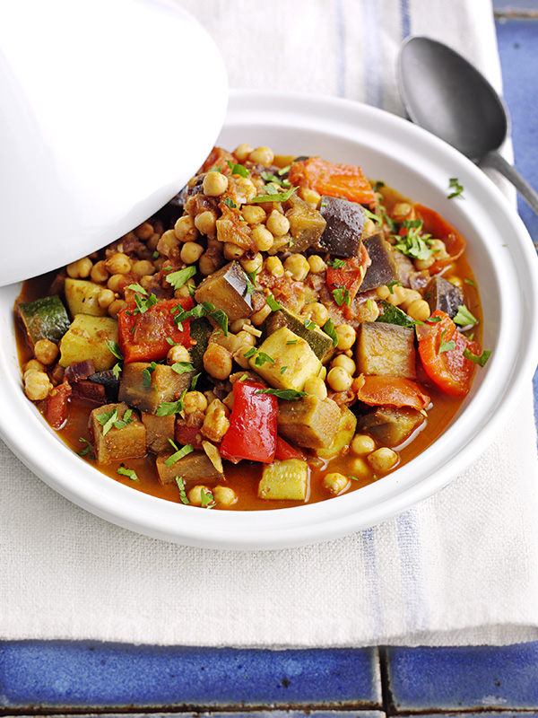 Moroccan tagine recipe with veg and chickpeas olive magazine forumfinder Image collections