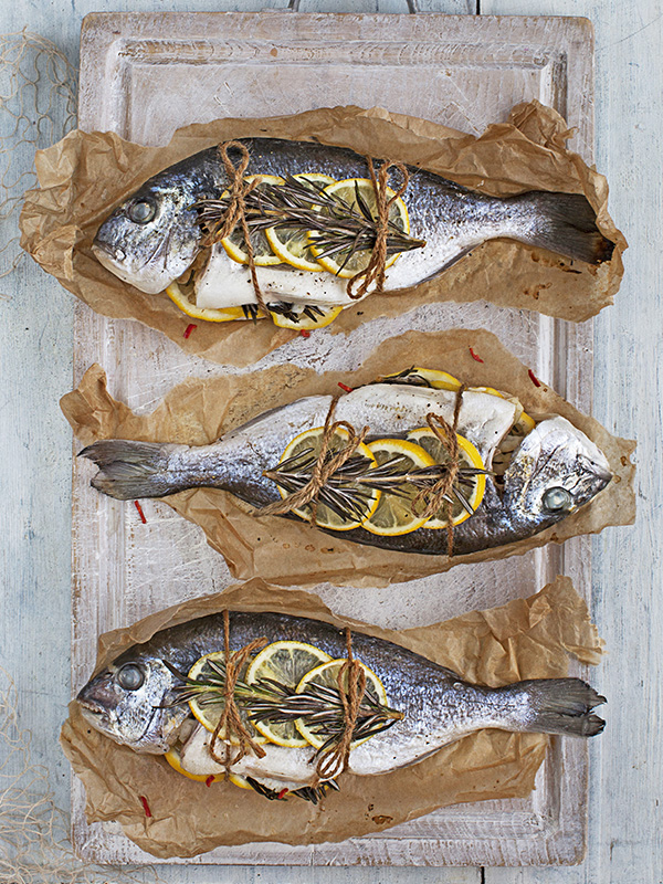 Sea Bream Recipe Cooked En Papillote